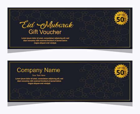 Gift voucher template, sale discount for advertising, poster, banner ,flyer