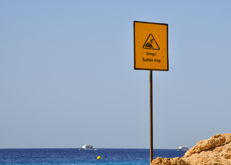 be careful: Sea vacation Be careful and cautious