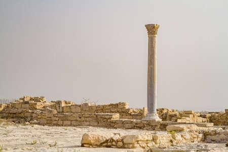 ancient greece: Los restos arqueol�gicos de la antigua ciudad griega, Parque arqueol�gico de Kourion en Chipre