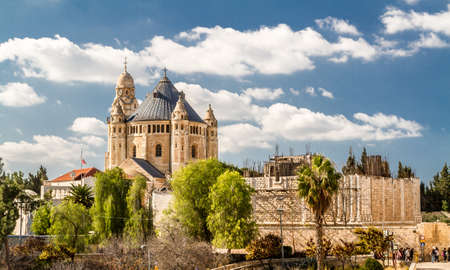 institute is holy: The Dormition Abbey in Jerusalem