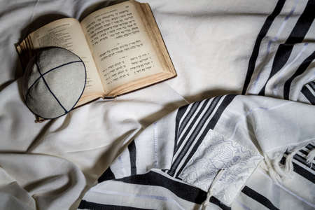 siddur: Talit, Kippah and Siddur - Jewish ritual objects