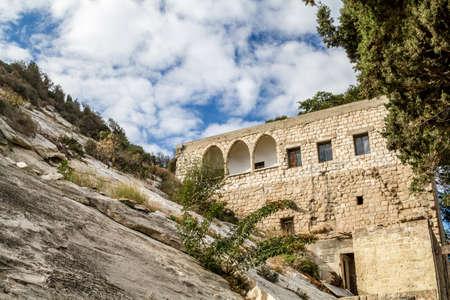 The Cave of Elijah, Mount Carmel in Haifa, Israel