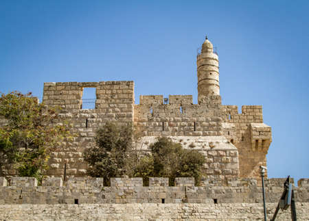 suleyman: View of the Tower of David, the ancient Jerusalem Citadel, Old City of Jerusalem, Israel