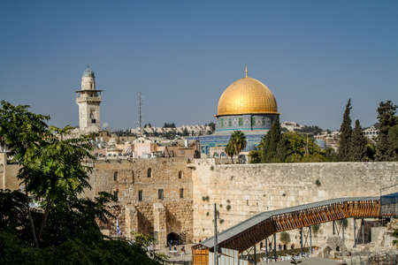 The Dome of the Rock, Old City of Jerusalem, Israel