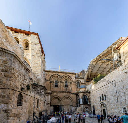 sepulcher: The Church of the Holy Sepulchre in Jerusalem Editorial