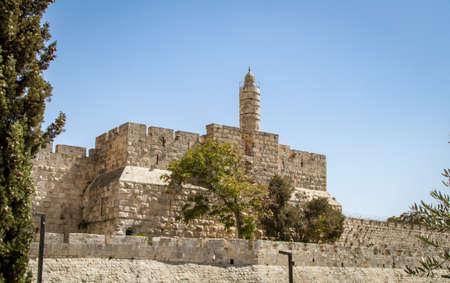 The Tower of David, Jerusalem Citadel, Israel
