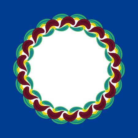 Swedish ethnic ornament