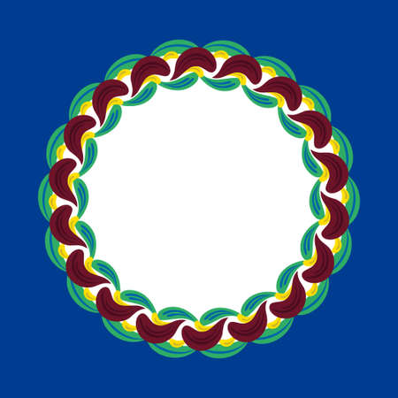 Swedish ethnic ornament