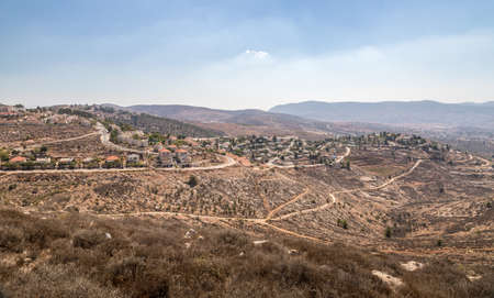 Sharon coastal plain near Shechem, West Bank