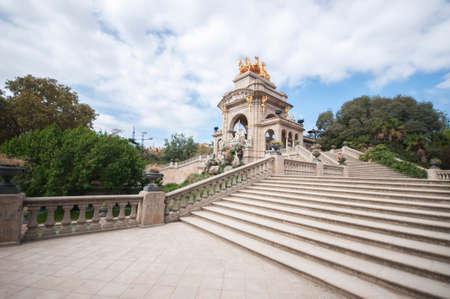 Parc de la Ciutadella, Barcelona, Catalonia, Spain, Europe, September 2016
