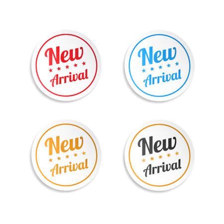 arrivals: New Arrival Stickers