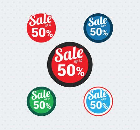 50 off: Sale 50 Off Badges