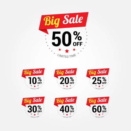 big: Big Sale Labels