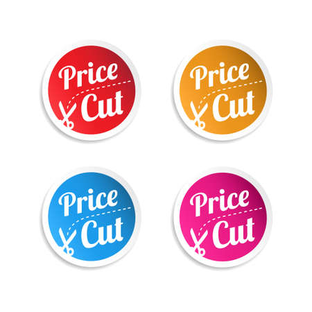price cut: Price Cut Stickers