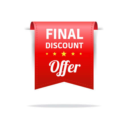 red label: Final Discount Red Label