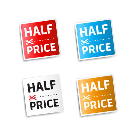 half price: Half Price Stickers
