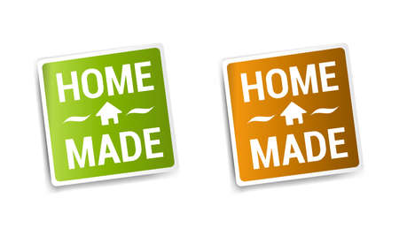 home products: Homemade Stickers