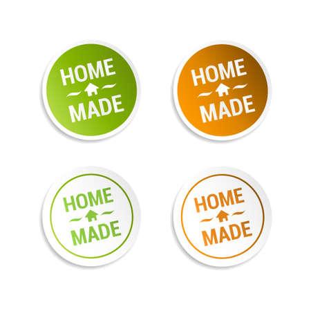 homemade: Homemade Stickers