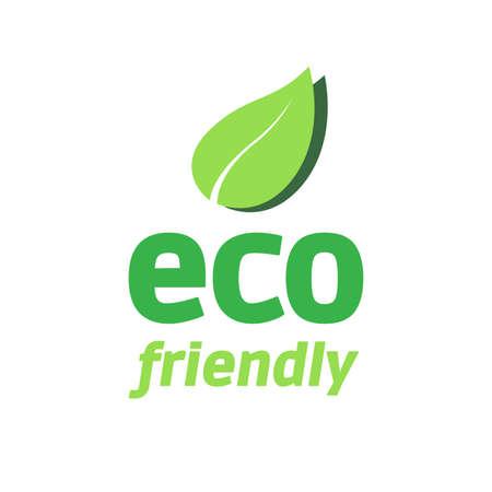 Eco Friendly Logo Zdjęcie Seryjne - 41762732