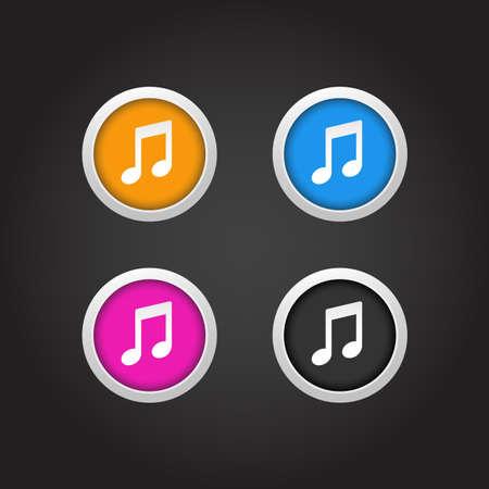 botones musica: M�sica Botones