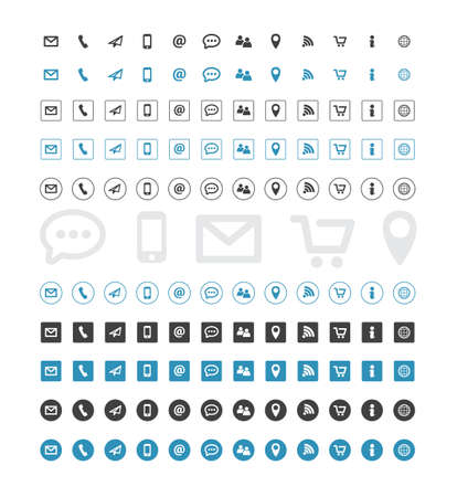 email icon: Contact Icons