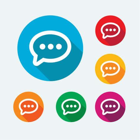 e mailing: Message Icons Illustration