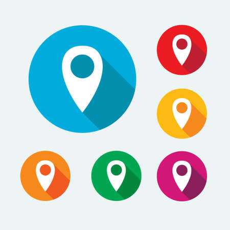 Pin Location Icons