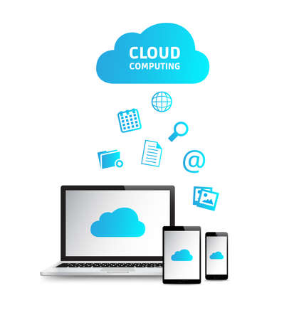 Cloud Computing Stockfoto - 38736056