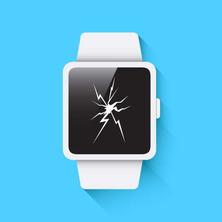 broken screen: Broken Screen Smart Watch