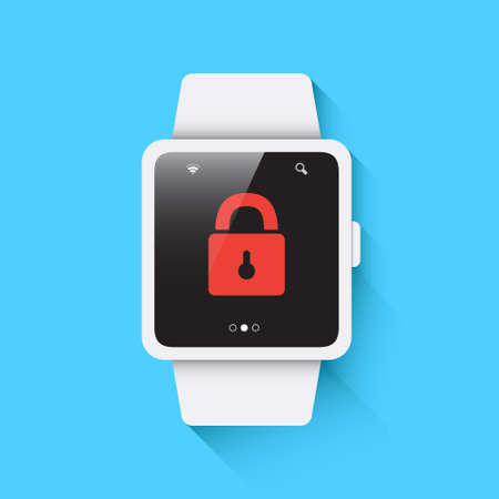 locked icon: Smart Watch Locked Icon