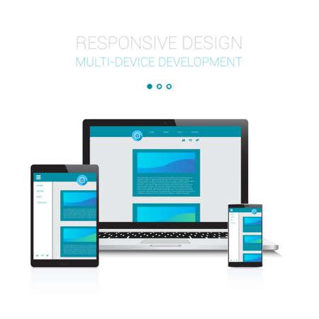 Responsive Multi-Device Vectores