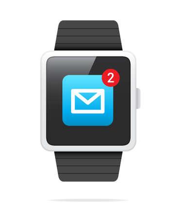 알림: Smart Watch Mail Notification Icon