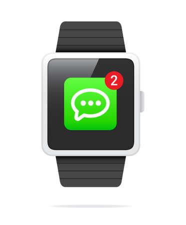 알림: Smart Watch Message Notification Icon