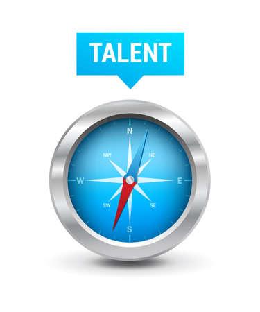 headhunter: Compass  Talent Tag