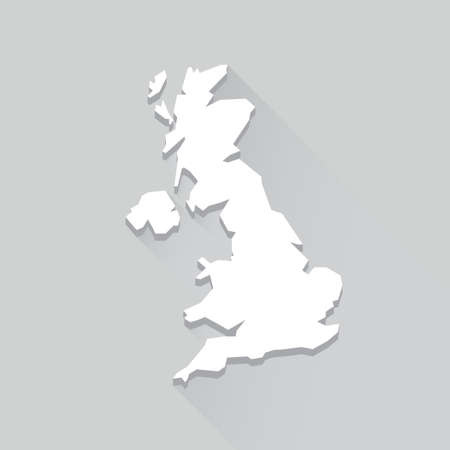 great britain: UK Map