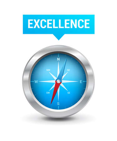 excellence: Compass  Excellence Tag