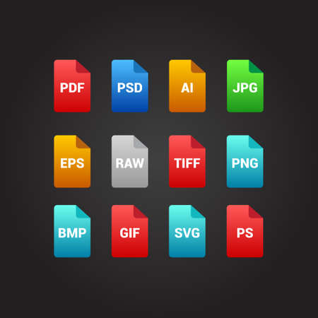 psd: Design File Icons