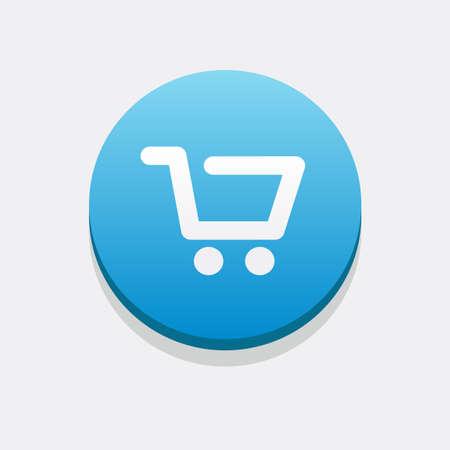 shopping cart icon: Shopping Cart Icon Illustration