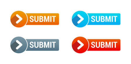 button set: Submit Buttons Illustration