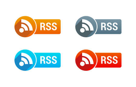 syndication: RSS Button Illustration