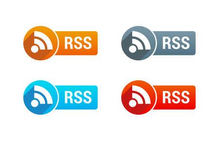 rss: RSS Button Illustration