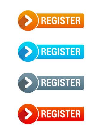 Registrieren Knopf