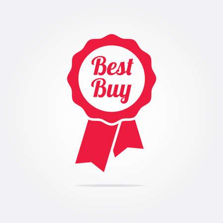 at best: Best Buy Ribbon Illustration