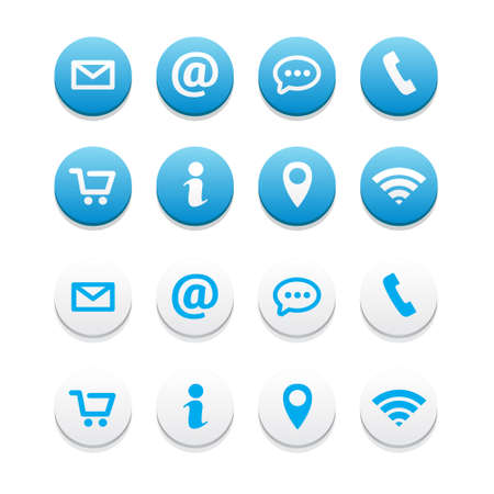 contact: Contact Icons