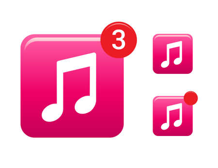 multimedia icons: Music  Multimedia Icons