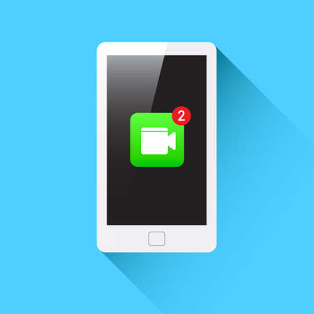 video call: Phone Video Call Notification Icon
