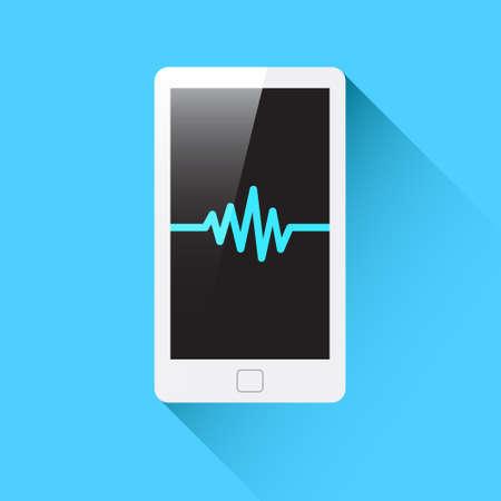 phone icon: Phone Waveform Icon
