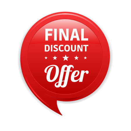 red label: Final Discount Offer Red Label