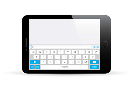 keypad: Tablet Horizontal Keyboard