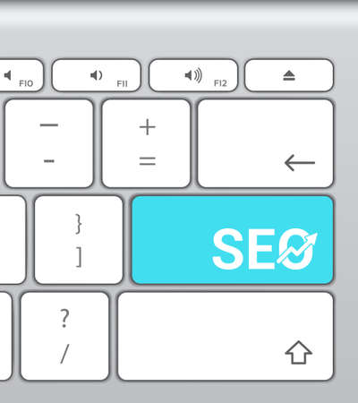 search engine optimization: Search Engine Optimization SEO Enter Button Keyboard